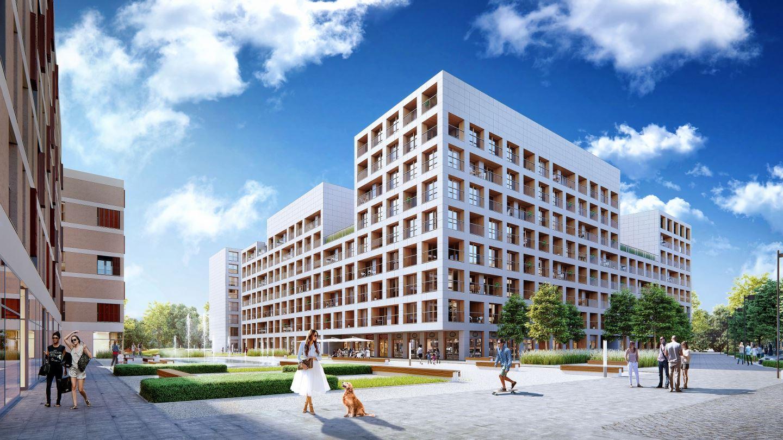 19Dzielnica – widok na nowe osiedle w Warszawie