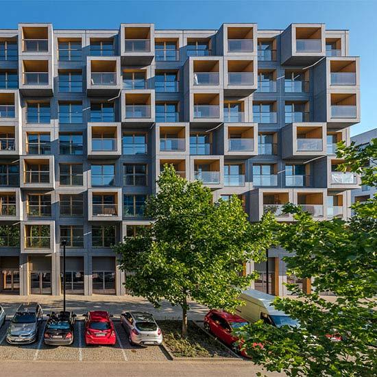 Mieszkania z tarasami i dwupoziomowe na osiedlu 19Dzielnica